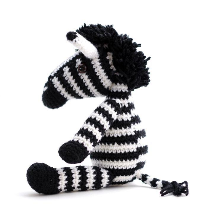 Zelda the Zebra amigurumi pattern by IlDikko | Tiere häkeln, Zebra ... | 736x736