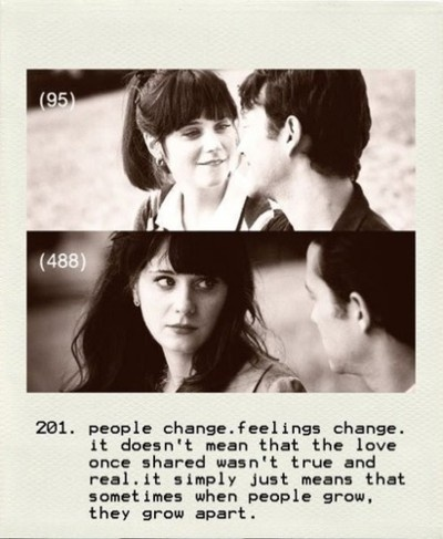 : Grow Apart, Quotes, Truth, Movies, People Change, Summer, 500 Days, 500Days, Favorite Movie