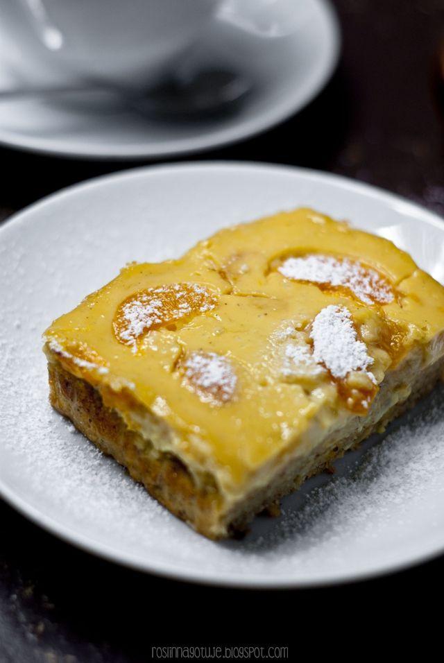 Roślinna : Jogurtowe ciasto z mandarynkami