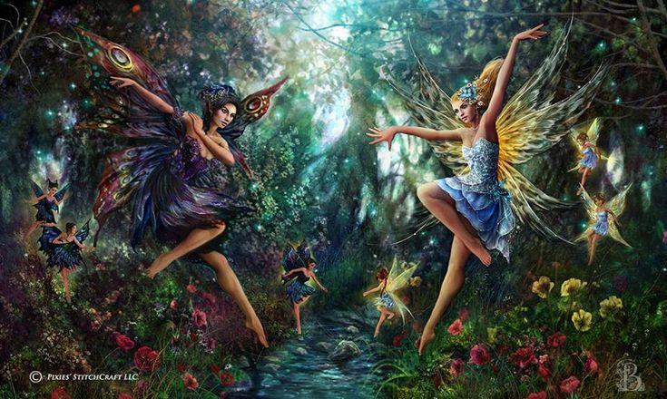 занимает танец эльфов картинка престижный изысканный