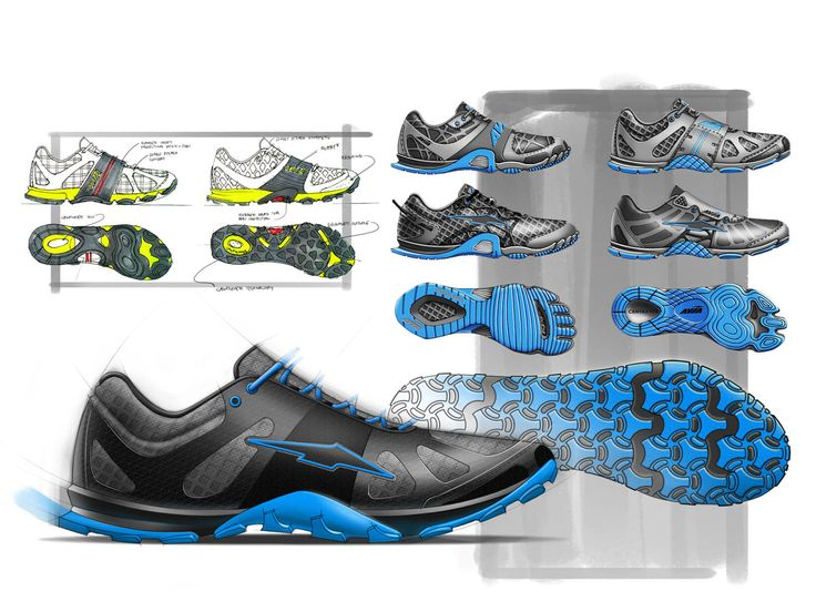 Avia Maximus Trainer - by Ghost Works industrial design consultancy