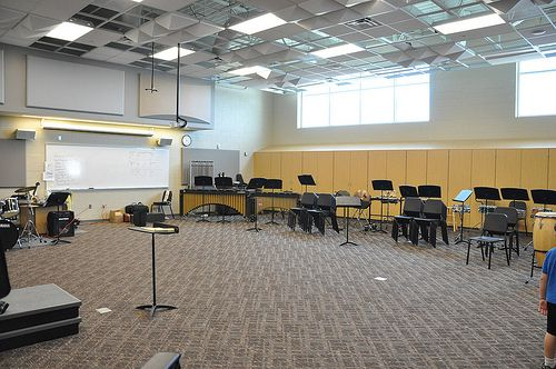 Westminster High School Band Room