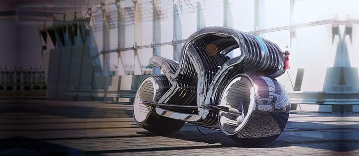MOTORCYCLE 3D SKETCH   Freelancers 3D