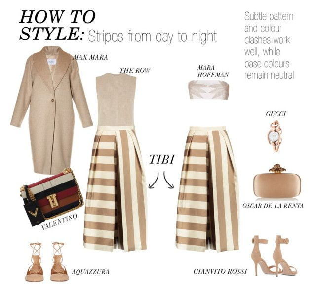 """How to style: Stripes from day to night"" by kitamode on Polyvore"