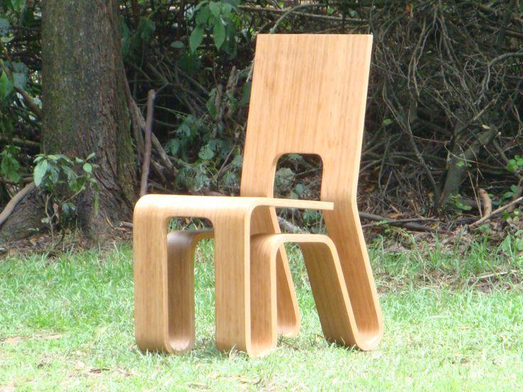 Nombre: Silla Bonic   Diseño: Nicolas Estrada G.    Bogotá, Colombia. https://www.facebook.com/negodiseno/