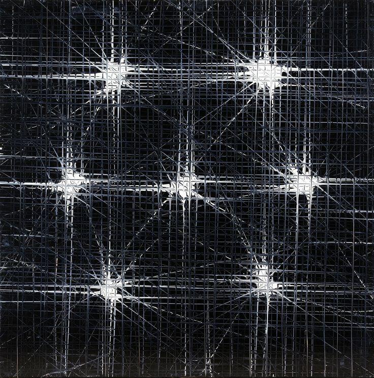 "Wilmer Herrison ""Reflejo Optico""  Acrylic on canvas, 2010"