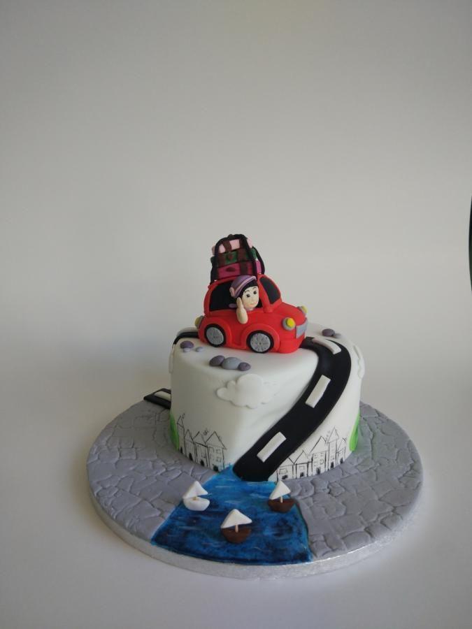 Road trip - cake by nef_cake_deco