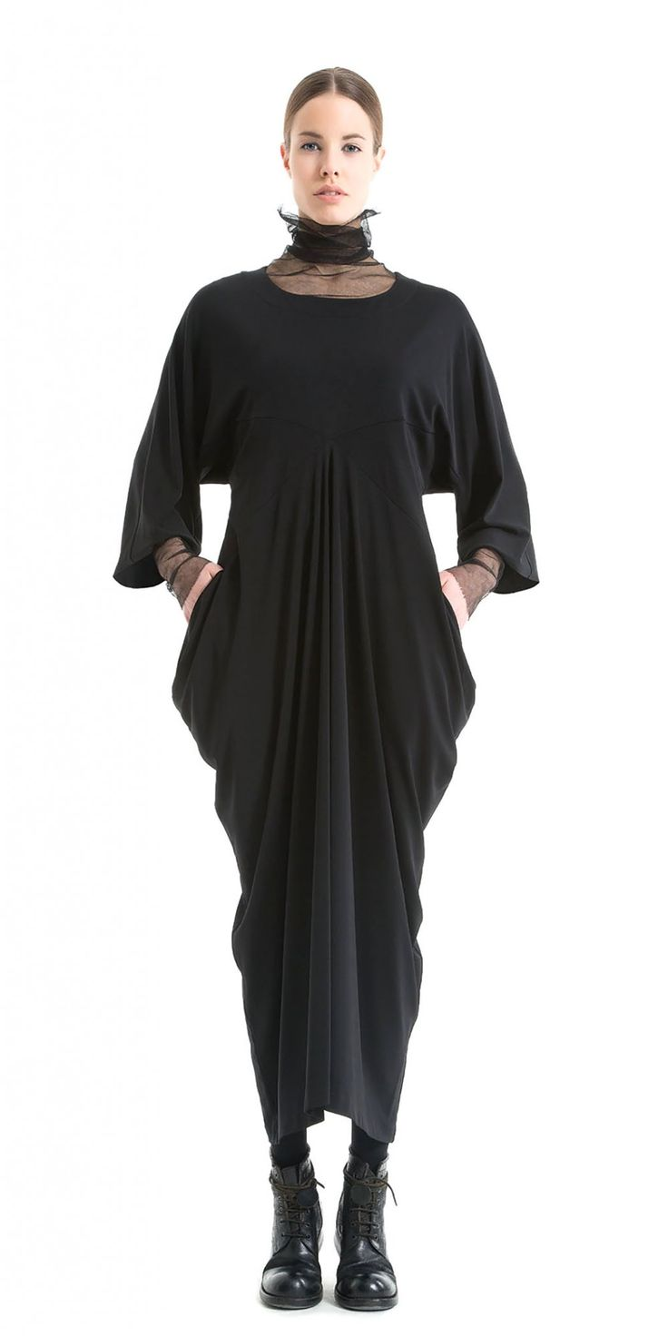 Okishi Stunning Draped Dress