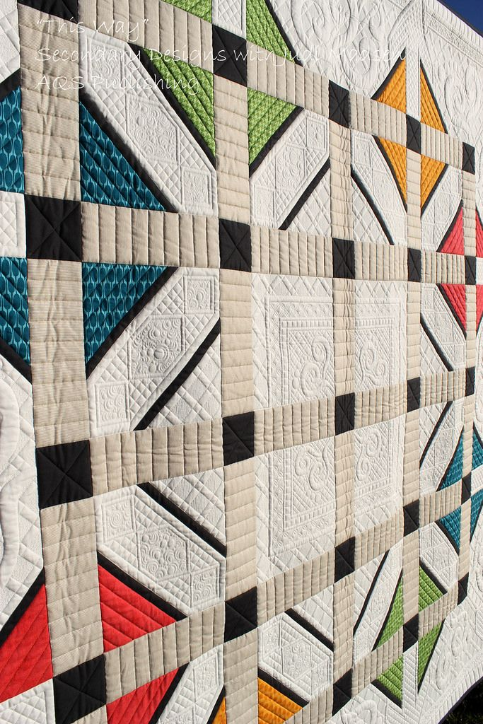 This Way Quilt: Secondary Designs with Judi Madsen.  AQS Publishing.