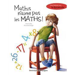 MATHIS N'AIME PAS LES MATHS: D'après l'orthophoniste, la dame qui l'aide à comprendre les nombres, Mathis est dyscalculique.