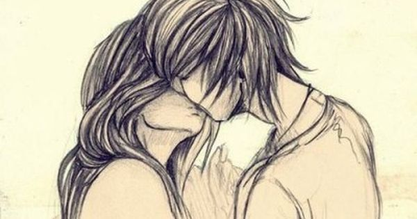 Resultado De Imagen Para Chico Y Chica Abrazados Dibujo Dibujos De Parejas Enamoradas Bocetos De Parejas Dibujo De Parejas
