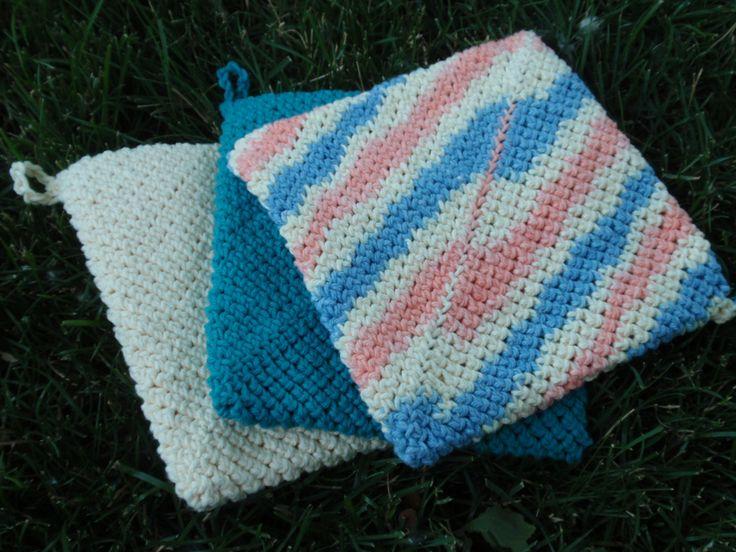 30 best crochet pot holder images on Pinterest | Crochet potholders ...