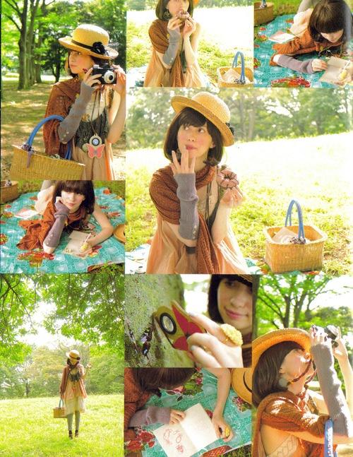 mori picnic girl