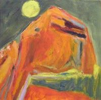 Jo Bertini, Dune Moon II, 45 x 45 cm
