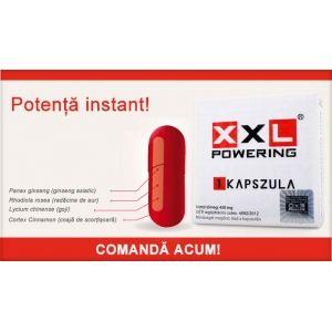 Pastile potenta Xxl Powering 3caps | Sexshop Online Xtoys.ro