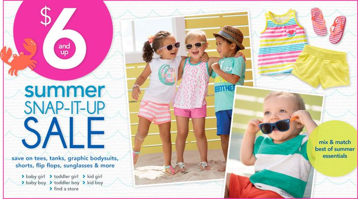 Georgine Saves » Blog Archive » Good Deal: Carter's & Osh Kosh B'gosh Kids Clothing Ship FREE!