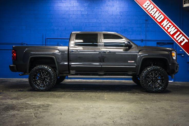 2014 gmc sierra 1500 all terrain 4x4 truck with a brand new lift package jman pinterest. Black Bedroom Furniture Sets. Home Design Ideas