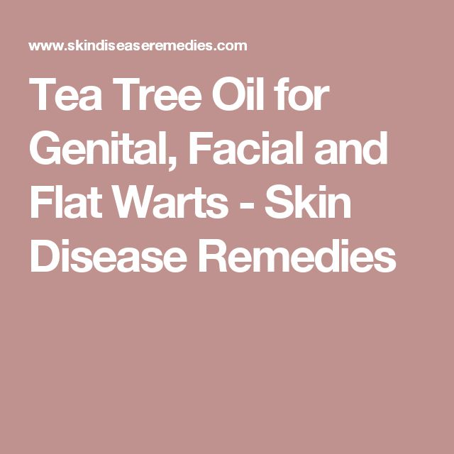 Tea Tree Oil for Genital, Facial and Flat Warts - Skin Disease Remedies http://www.wartalooza.com/treatments/salicylic-acid-treatment-for-warts