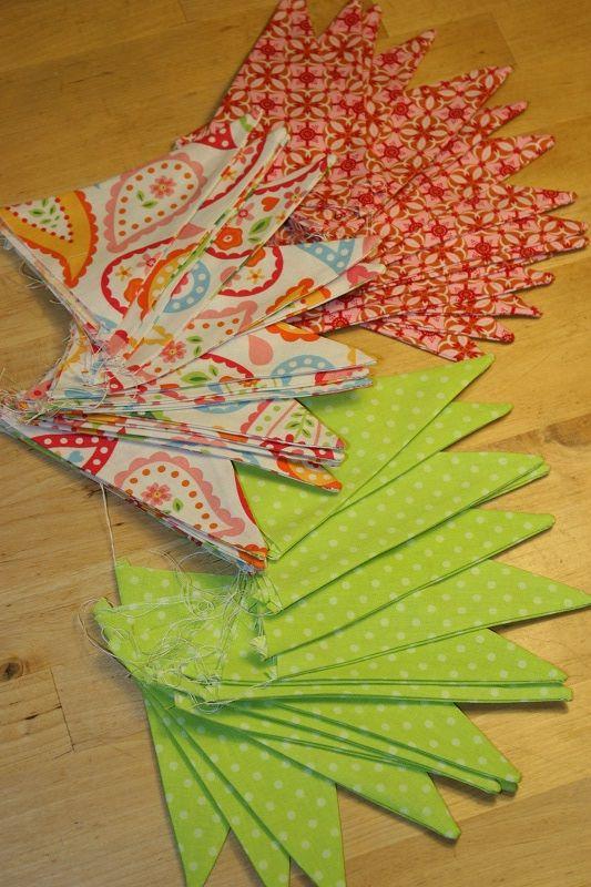 Заготовки из ткани для пэчворка.