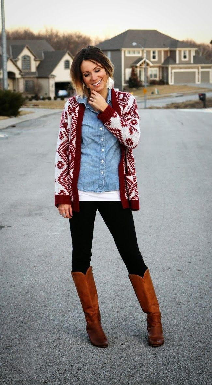 cool 50 Идей, с чем носить рыжие сапоги без каблука — Модные образы на каждый день Читай больше http://avrorra.com/s-chem-nosit-ryzhie-sapogi-bez-kabluka/