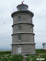 Phares abandonnés, Iles Rouge, Charlevoix, Québec, 12 km au large de Tadoussac, au milieu du fleuve Saint-Laurent établi en 1848