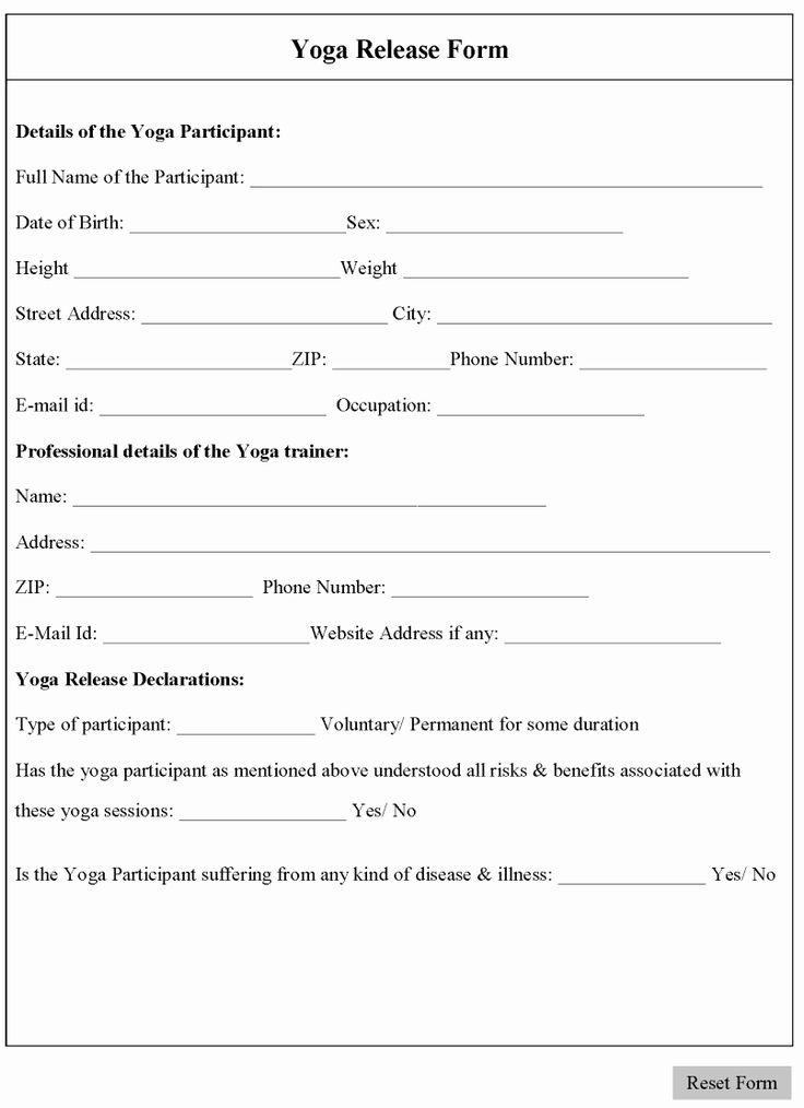 yoga teacher resume sample