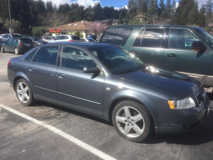 I just purchased this an hour ago! 2003 Audi A4 1.8T Glad to join /r/audi #Audi #cars #car #quattro