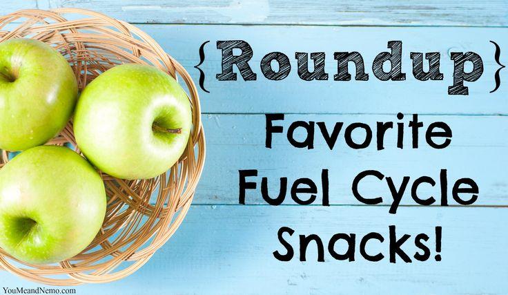 Roundup Favorite Fuel Cycle Snacks via You, Me, and Nemo