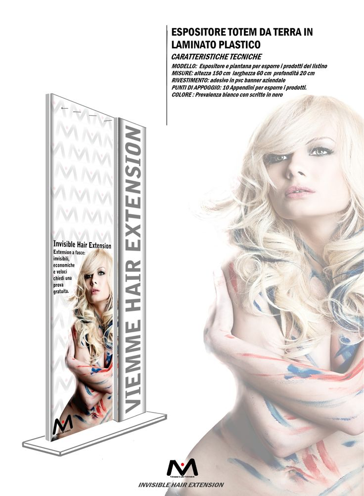 Espositore in regalo sull'acquisto della merce. #viemmehairextension #hair #extension. www.viemmehairextension.com
