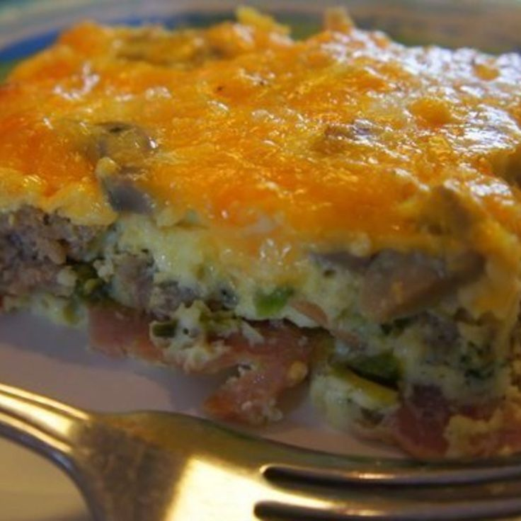 I made this delicious casserole for my low carb diet...love it. Very flavorful...enjoy!