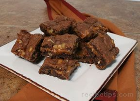 Chocolate Caramel Bars Recipe