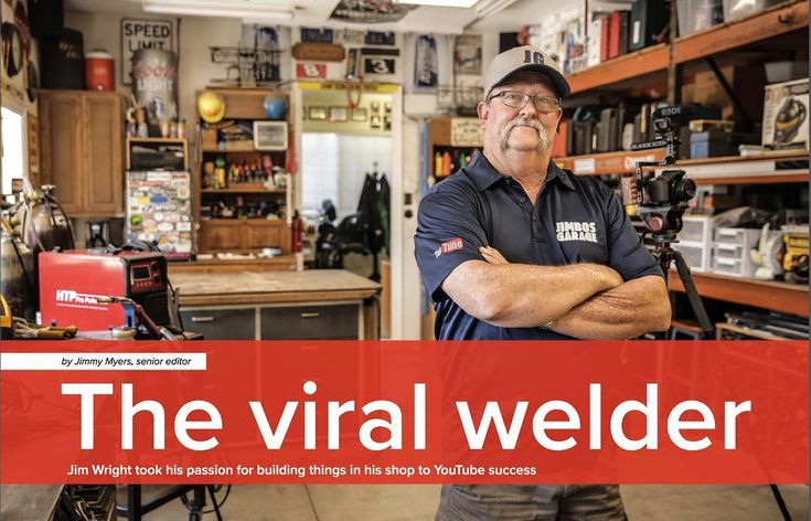 Feeling very blessed. Check out the article from Welding Productivity Online magazine. Thank you Jimmy Myers!!! #jimbosgarage #mancave #welder #welding #weldingproductivity #metal #covergirl #metalfabrication #instagramer #instagram #youtube #youtuber #maker #blessed #magazinearticle