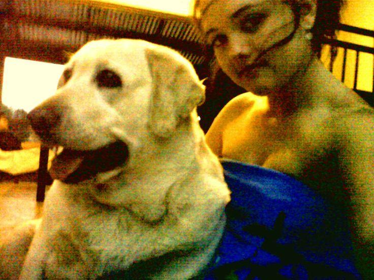 this dog of mine only radiates joy!!!***