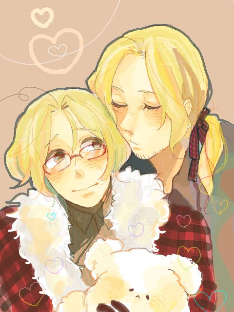 Here is some Franada from hetalia