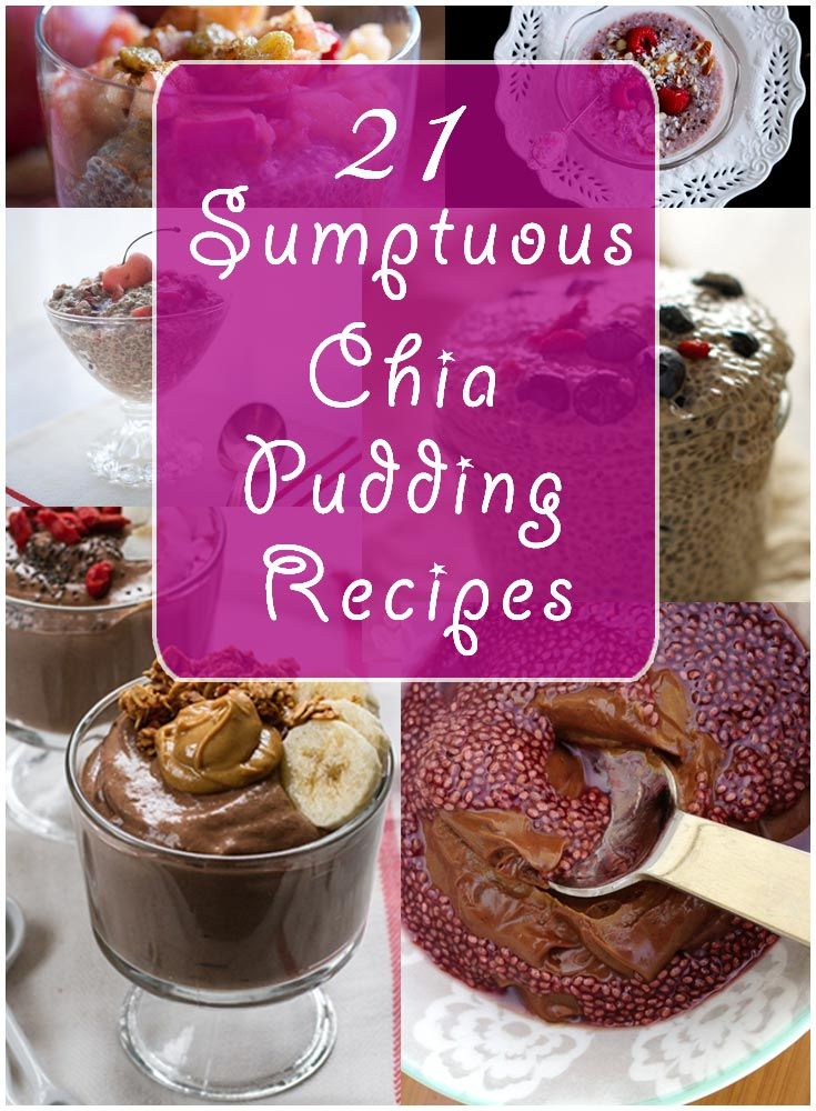 133 best my raw food recipes blog posts images on pinterest 21 sumptuous chia pudding recipe to energize your day forumfinder Choice Image