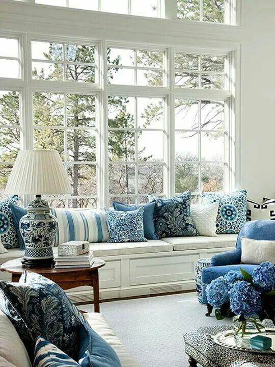 Les 1138 meilleures images du tableau d co int rieur bleu - Deco interieur bleu ...