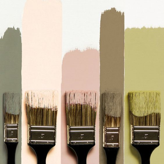 Painting: the new flamingo colors from Tollens