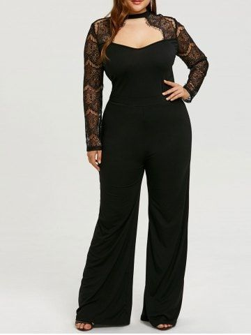f444a781e32 Pin by The Curvy Fashionista on Plus Size Jumpsuits and Rompers in 2019