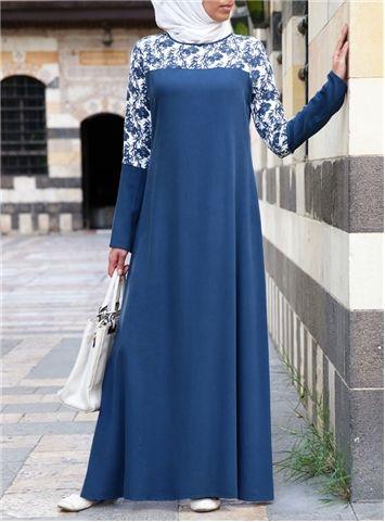 Zahra Printed Abaya