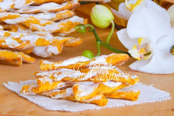 Вкусное морковное печенье - рецепт с фото
