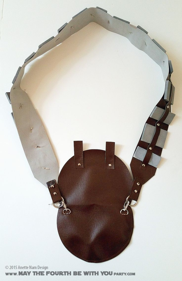DIY Chewbacca/Wookiee Bandolier and Bag. Check out all our other Star Wars…