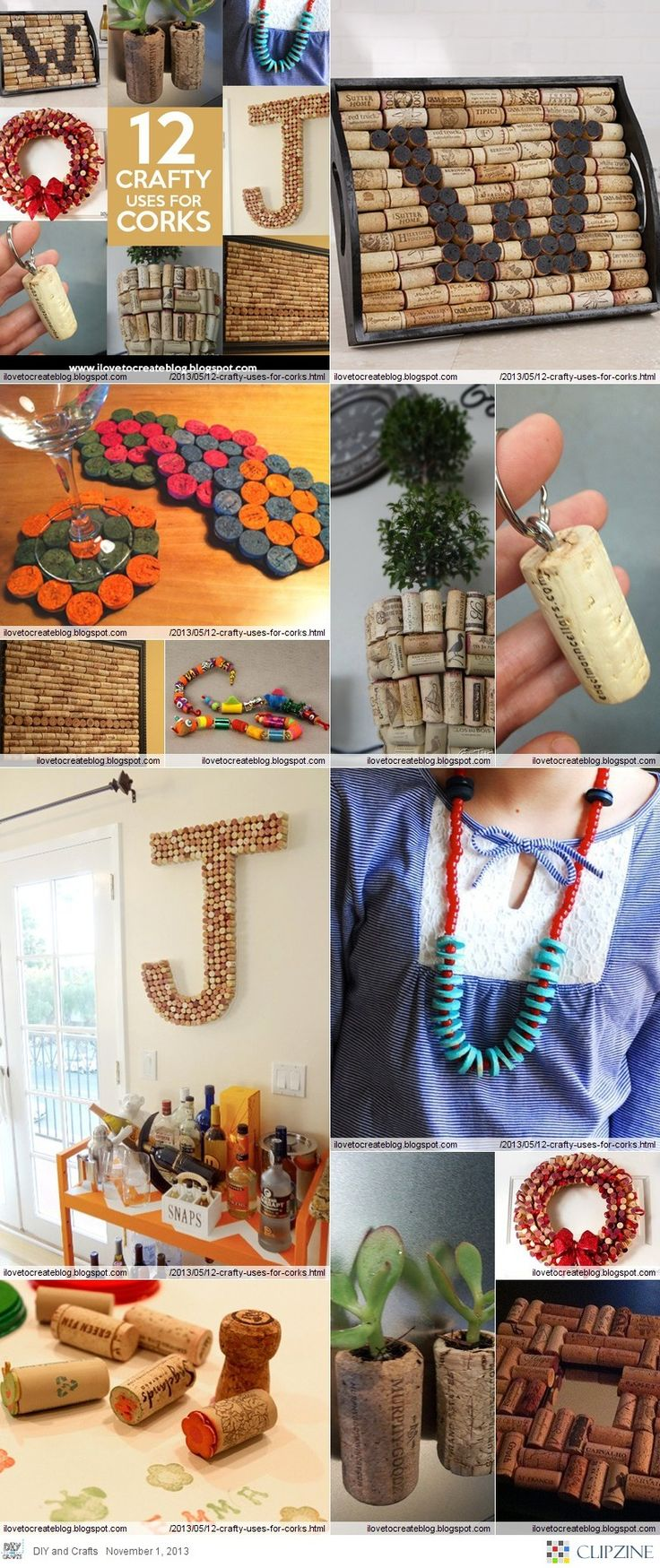 12 days of cork crafts!