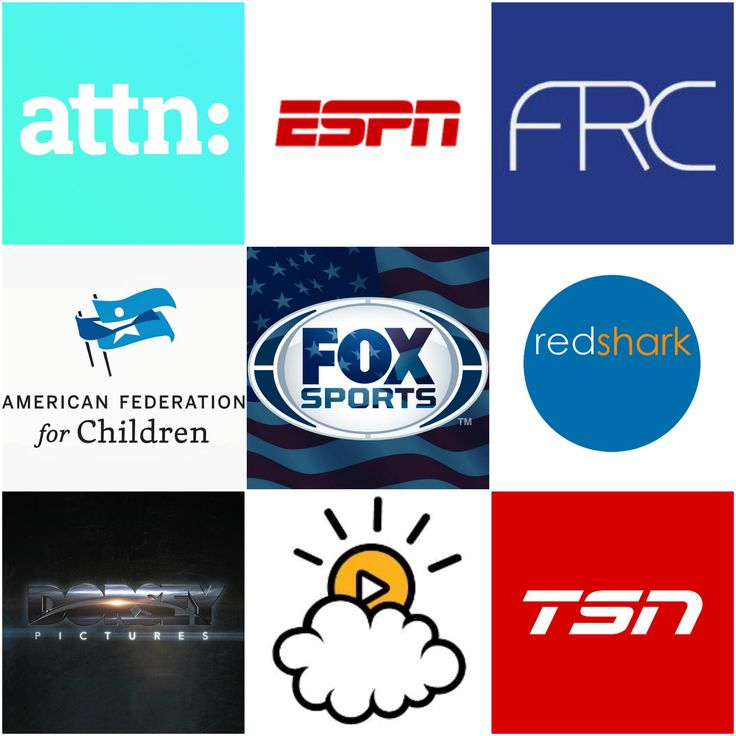 ATTN:, ESPN, FRC, American Federation for Children, Fox Sports, Redshark Video, Dorsey PIctures, Little Things and TSN