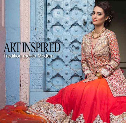 Traditional indian wedding dress online-zarilane :
