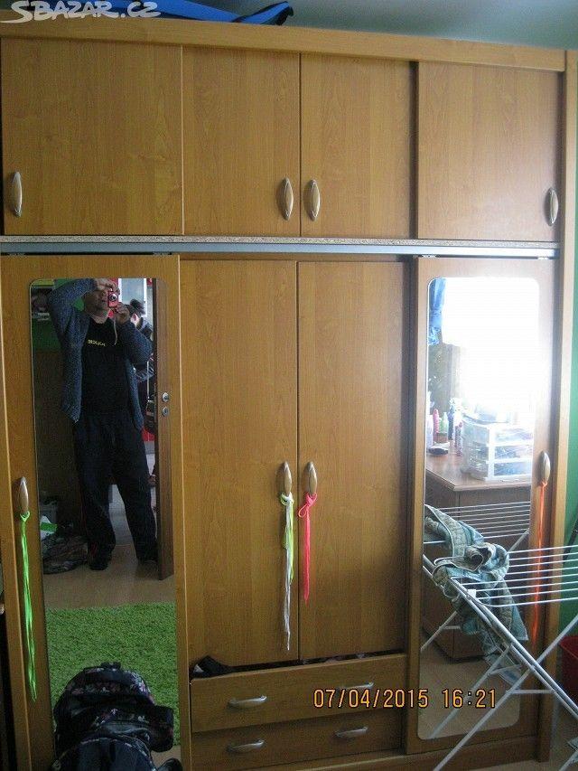 Prodej skříňe do dětského pokoje,( šatní skříň) - obrázek číslo 1