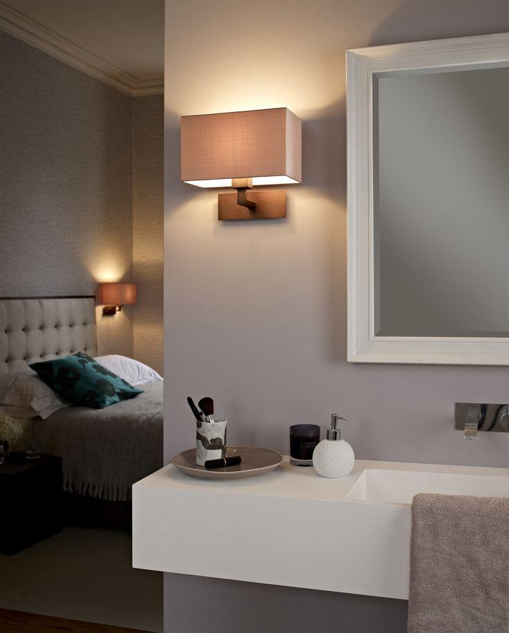Kinkiety Park Lane firmy Astro z opcją montażu w pokojach i w łazience.