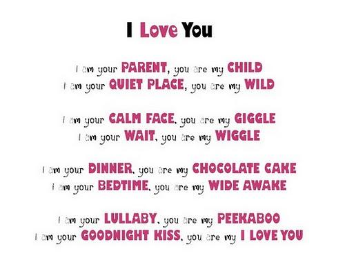 i love my children poems - photo #21