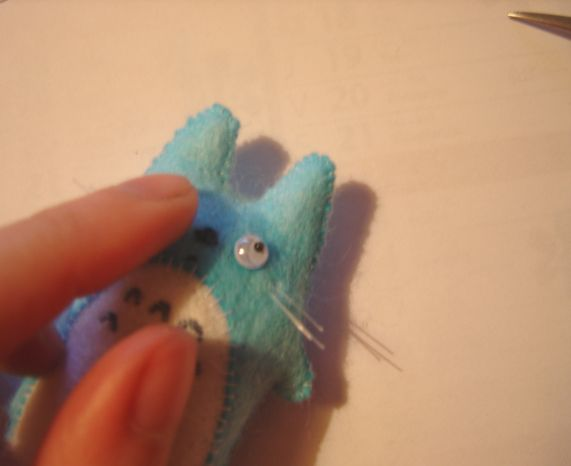 Make your own totoro plush. So cute.