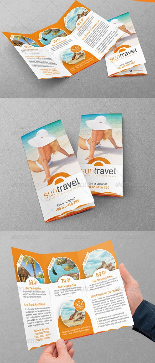 travel brochure template 3 fold - 9 best images about tri fold brochure design ideas on