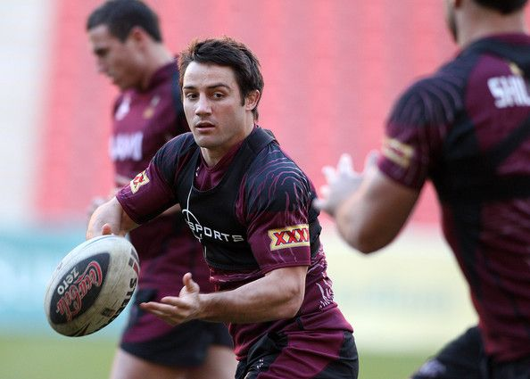 Queensland Maroons Training Session. http://footyboys.com